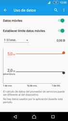 Sony Xperia Z5 Compact - Internet - Ver uso de datos - Paso 11