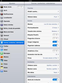 Apple iPad 2 - E-mail - Configurar correo electrónico - Paso 3