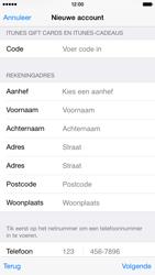 Apple iPhone 6 - Applicaties - Account instellen - Stap 20