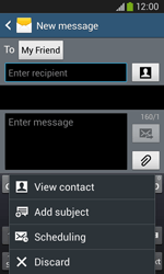 Samsung Galaxy Core Plus - Mms - Sending a picture message - Step 9