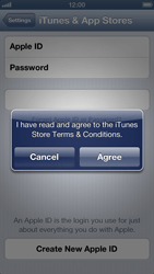 Apple iPhone 5 - Applications - Create an account - Step 7
