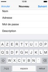 Apple iPhone 4 - E-mails - Ajouter ou modifier un compte e-mail - Étape 9