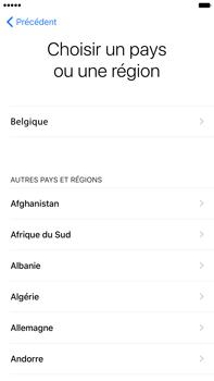 Apple iPhone 7 Plus - Premiers pas - Créer un compte - Étape 8