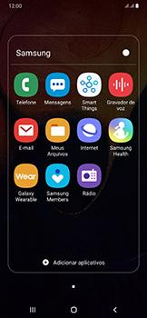 Samsung Galaxy A50 - Email - Como configurar seu celular para receber e enviar e-mails - Etapa 4