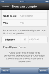 Apple iPhone 4 S - Applications - Créer un compte - Étape 15