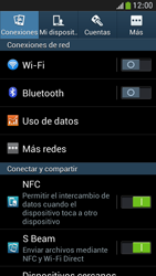 Samsung Galaxy S4 Mini - Internet - Ver uso de datos - Paso 4