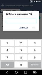 LG LG K8 - Sécuriser votre mobile - Personnaliser le code PIN de votre carte SIM - Étape 13