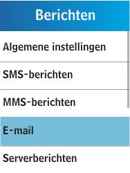 Samsung C3300K - E-mail - Handmatig instellen - Stap 6