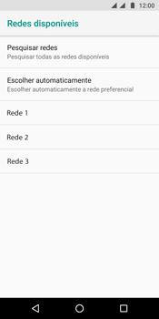 Motorola Moto G6 Plus - Rede móvel - Como selecionar o tipo de rede adequada - Etapa 10