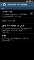 Samsung Galaxy S4 Mini - Funciones básicas - Activar o desactivar el modo avión - Paso 7
