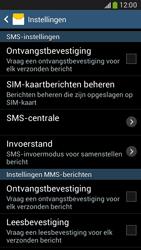 Samsung G386F Galaxy Core LTE - SMS - handmatig instellen - Stap 8
