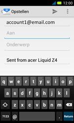 Acer Liquid Z4 - E-mail - Hoe te versturen - Stap 5