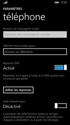 Nokia Lumia 830 - Messagerie vocale - configuration manuelle - Étape 7