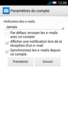 Alcatel OT-5036X Pop C5 - E-mail - Configuration manuelle - Étape 16