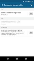 HTC Desire 626 - Internet et connexion - Partager votre connexion en Wi-Fi - Étape 6