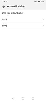Huawei Mate 20 Pro - E-mail - e-mail instellen: POP3 - Stap 7