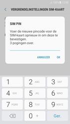 Samsung Galaxy A3 (2017) - Android Nougat - Beveiliging en ouderlijk toezicht - Hoe wijzig ik mijn SIM PIN-code - Stap 10