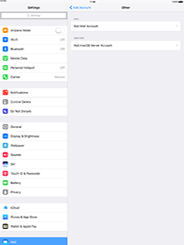 Apple iPad Pro 12.9 (1st gen) - iOS 10 - Email - Manual configuration - Step 6