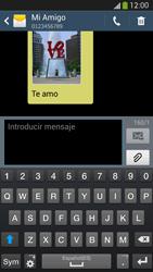 Samsung Galaxy S4 - Mensajería - Escribir y enviar un mensaje multimedia - Paso 8