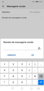 Huawei P20 Pro Android Pie - Messagerie vocale - Configuration manuelle - Étape 8