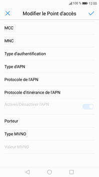 Huawei Mate 9 - Mms - Configuration manuelle - Étape 11
