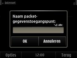 Nokia E6-00 - Internet - handmatig instellen - Stap 11