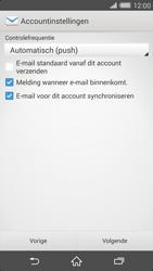 Sony D6503 Xperia Z2 - E-mail - Account instellen (POP3 met SMTP-verificatie) - Stap 16