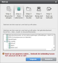Samsung B7610 Omnia Qwerty - Software - Update installeren via PC - Stap 8