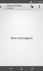 Sony Xperia E1 - Email - Adicionar conta de email -  4