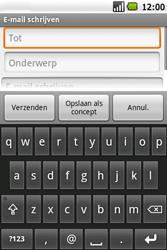 Samsung I5700 Galaxy Spica - E-mail - E-mails verzenden - Stap 6