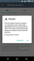 Sony Xperia X Dual SIM (F5122) - Internet no telemóvel - Como ativar os dados móveis -  6