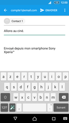 Sony Sony Xperia Z5 (E6653) - E-mail - Envoi d
