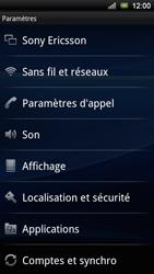 Sony Ericsson Xperia Ray - Réseau - utilisation à l'étranger - Étape 7