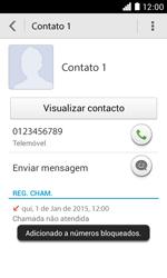 NOS LUNO - Chamadas - Como bloquear chamadas de um número -  7