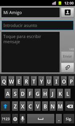 Samsung I8160 Galaxy Ace II - Mensajería - Escribir y enviar un mensaje multimedia - Paso 9