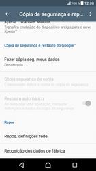 Sony Xperia XZ - Android Nougat - Repor definições - Repor definições de fábrica do telemóvel -  6