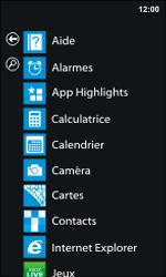 Nokia Lumia 800 - Contact, Appels, SMS/MMS - Ajouter un contact - Étape 3