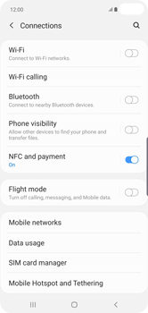 Samsung Galaxy S10 Plus - Network - Manually select a network - Step 5