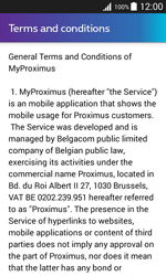 Samsung J100H Galaxy J1 - Applications - MyProximus - Step 11