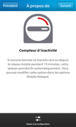 BlackBerry Z10 - Internet et connexion - Partager votre connexion en Wi-Fi - Étape 10