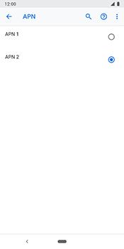 Google Pixel 3 - Internet - Configuration manuelle - Étape 19