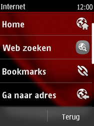 Nokia Asha 300 - Internet - Hoe te internetten - Stap 3