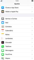 Apple iPhone 7 - iOS 13 - Email - Como configurar seu celular para receber e enviar e-mails - Etapa 3