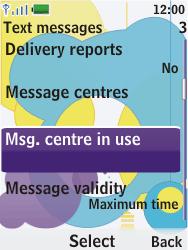 Nokia 7310 supernova - SMS - Manual configuration - Step 10
