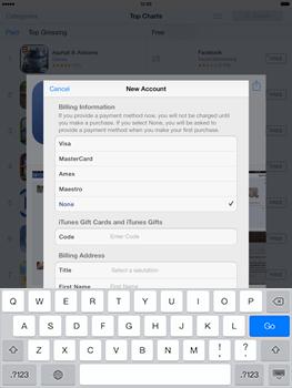 Apple iPad mini iOS 7 - Applications - Downloading applications - Step 19