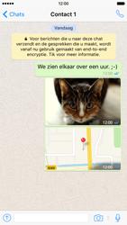 Apple iPhone 6 iOS 9 - WhatsApp - Deel foto