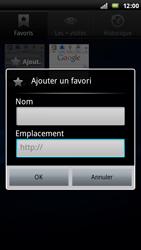 Sony Ericsson Xperia Play - Internet - Navigation sur internet - Étape 9