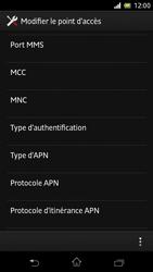 Sony C5503 Xperia ZR - Internet - Configuration manuelle - Étape 13