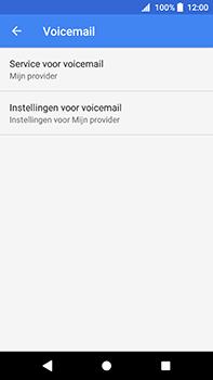 Sony Xperia XA2 Ultra - Voicemail - handmatig instellen - Stap 9