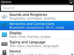 BlackBerry 9720 Bold - Internet - Enable or disable - Step 4